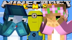 Minecraft - HIDE AND SEEK w/ Little Kelly and Sharky