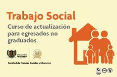 Trabajo Social: Curso de actualización para egresados no graduados. #Unicartagena #TrabajoSocial // Fechas limitadas