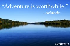 We have lots of adventures in Ohio's Largest Playground! #NTTW2015