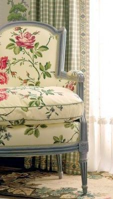 Pretty French Chair