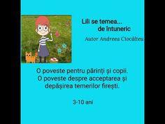 Lili se temea de întuneric - Poveste terapeutică - YouTube