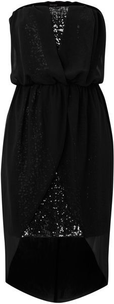 Chiffon Sequin Dress - Lyst Has link to store
