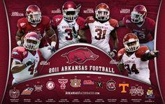 Arkansas Razorbacks Football Schedule (2011)