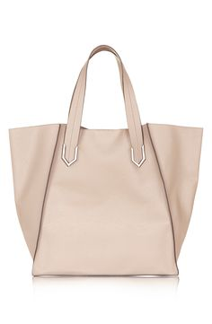 This faux leather tote is the perfect everyday bag.