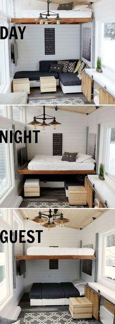 Bunk Beds Built Inside A Closet