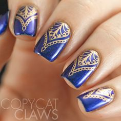 Copycat Claws Uberchic Beauty Mandala Love Stamping Plate Review