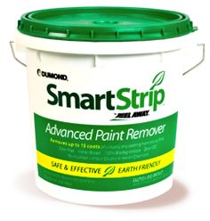 Smart Strip - revolutionary Paint Remover is a biodegradable, water-based paint stripper; extremely effective for removing multiple layers from virtually all surfaces.Doesn't contain methylene chloride or toxic chemicals. Removing Stain From Wood, Removing Paint, Stripping Paint, Paint Stripper, Cleaning Painted Walls, D House, Tips & Tricks, Painting Tips, Log Homes