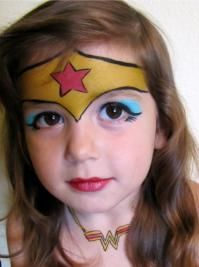 Maquillage enfant Wonder Women