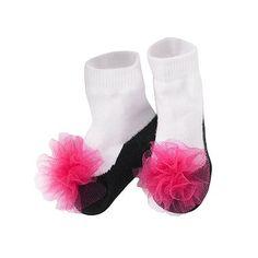 Kohls Baby Starters Pouf Slipper Socks - Baby