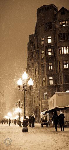 Arbat Street Moscow  By Elie Tanios