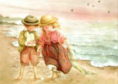 Lisi Martin - kids at the beach
