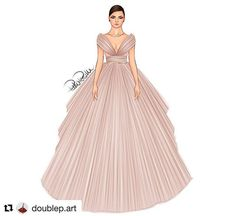 Couture by goes to Shanghai ❤️ Dress Design Drawing, Dress Design Sketches, Fashion Design Sketchbook, Dress Drawing, Fashion Design Drawings, Fashion Illustration Collage, Dress Illustration, Fashion Illustration Dresses, Fashion Model Sketch