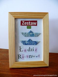 Pomaranczowy Kot: pomysł na prezentowe SOS - zrób to sam :) Diy Birthday, Birthday Gifts, Happy Birthday, Cute Gifts, Diy Gifts, Geek Room, Diy Presents, Mft Stamps, Boyfriend Gifts