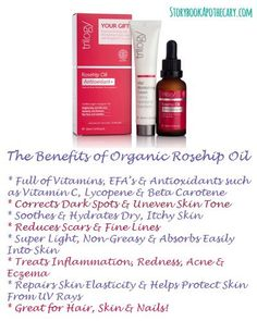 of Rose Hip Essential Oils benefits of rosehip oil via Storybook Apothecarybenefits of rosehip oil via Storybook Apothecary Organic Beauty, Organic Skin Care, Natural Skin Care, Best Makeup For Rosacea, Essential Oils For Rosacea, Rosehip Oil Benefits, Home Remedies For Skin, Natural Remedies, Organic Rosehip Oil