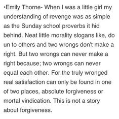Emily Thorne Pilot opening quote #1 #Revenge