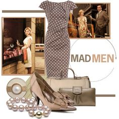 """""""Mad Men"""" by merryquitecontrary2 on Polyvore"""