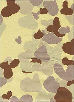 5-colour Australian Desert Pattern, yellow variant 2002 to present