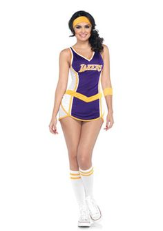 2Pc. Lakers Costume
