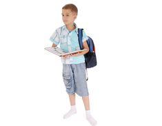 È talmente pieno da diventare difficile da portare sulle spalle, soprattutto per i bambini più piccoli che non dovrebbero portare pesi.