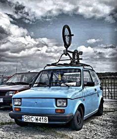 Fiat 126, Car Mods, Cute Cars, Cars And Motorcycles, Dream Cars, Trucks, Retro, Ideas, Design