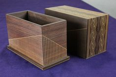 1995 42nd Japan Traditional Craft Exhibition Selected Works: shallow Karaki traditional crafts Osaka Karaki Sashimono