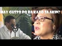 Do you like me Mr. Leila De Lima To President Rodrigo Duterte.Duterte Loss Balance In The Podium When Leila De Lim. Rodrigo Duterte, Philippine News, Lima, Mens Sunglasses, Style, Swag, Limes, Men's Sunglasses, Outfits