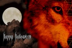halloween wolves pics | Wolf's Lair – Happy Halloween