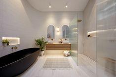 The Block Australia, Bathroom Renos, Ensuite Room, Bathroom Ideas, Bathroom Interior, Bathroom Inspiration, Ensuite Bathrooms, Bathroom Modern, Family Bathroom