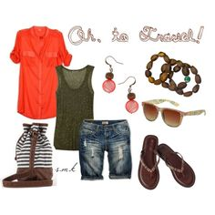Oh, to Travel!, created by samarki2010 on Polyvore