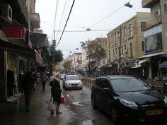 Herzl street Haifa |                                Winter in Israel