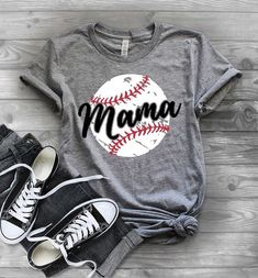 Women Baseball Mom Mama Letter Print T Shirt Short O-Neck Causal Tee Tops Blouse ** Read more at the image link. (This is an affiliate link) Mom Of Boys Shirt, Baseball Mom Shirts, Baseball Tops, Baseball Cleats, Softball, Baseball Birthday, Baseball Party, Baseball Games, Baseball Pitching