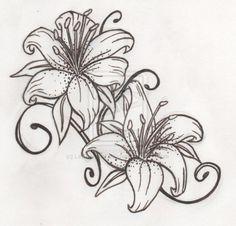 ... Lilies Lily Tattoo Design Tiger Lily Tattoo Tattoos Tattoo Designs