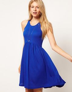 #asos                     #Skirt                    #ASOS #Babydoll #Dress #with #Skater #Skirt #asos.com                         ASOS Babydoll Dress with Skater Skirt at asos.com                             http://www.seapai.com/product.aspx?PID=1463380