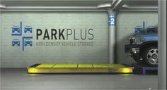 Park Plus Inc. AGV systems for High Density Parking.