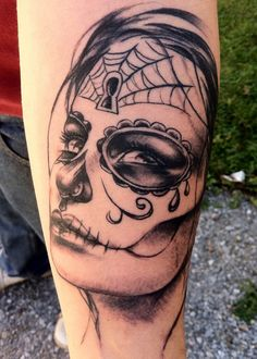 Day of the Dead Tattoos | Day Of The Dead by johnnyrusso on DeviantArt