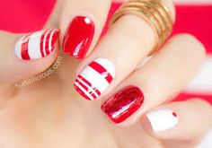 C<3ndy & Candy Apple R<3d Nails