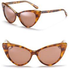 "Tom Ford ""Nikita"" Cat Eye Sunglasses"