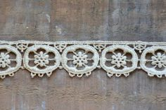 Antique Lace Trim by OneGirlsVintage on Etsy