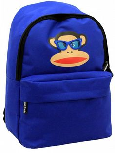 b5415d818c Paul Frank Julius Monkey School Back Pack in Red or Blue Paul Brown