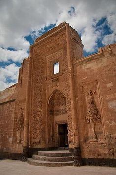 Main Gate to Ishak Pasa, Turkey.