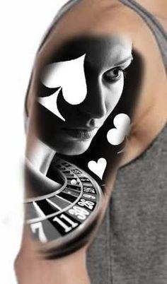 Resultado de imagem para blackjack tattoo