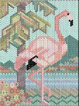 Pink Flamingo by Pat Rivera