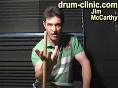 ▶ Drum Stick Twirling & Spinning whilst playing Blog 07 - YouTube