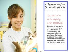 Reason 7 to #spay/neuter