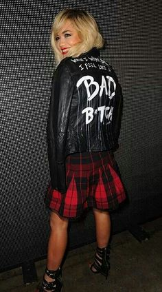 """Bad bitch"" Rita Ora in DKNY"