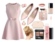 """""""pastel pink princess"""" by nomiravioli ❤ liked on Polyvore featuring beauty, Chicwish, jane, Tory Burch, MAC Cosmetics, Gucci, Abercrombie & Fitch, Chanel, Paco Rabanne and LASplash"""
