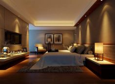 """Lumina din dormitor trebuie să fie echilibrată """"Iluminarea din dormitor nu trebuie niciodată să fie excesiv de puternică, putându-se crea o energie yang ce devine dură și dăunătoare în camera de dormit, deci nu recomand candelabrele de cristal ori spoturile luminoase aici. Aplicele de plafon trebuie să fie răspândite uniform în cameră. Ele trebuie să fie mici, de joasă tensiune, iar numărul ideal de aplice de tavan este șase, numărul cerului."""