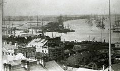 Panorama of Newcastle, NSW, [n,d,] Cultural Collections, University of Newcastle, NSW, Australia Newcastle Town, Australian Road Trip, Tourist Info, Aboriginal History, Botany Bay, It's Wonderful, Old Maps, Central Coast, Secret Places