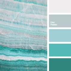 monochrome emerald color palette palettes with color ideas for decoration your house, wedding, hair or even nails. Aqua Color Palette, Pastel Palette, Color Palettes, Room Colors, House Colors, Colour Schemes, Color Combos, Monochrome Color, Beach Color
