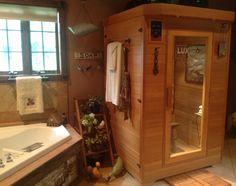 2nd floor bathroom, sauna